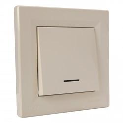 """Выключатель 1-кл. внутр. Schneider""""ASFORA """" IP44 сл.к. (EPH0100223)"""