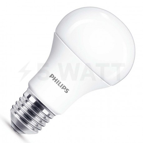 LED лампа PHILIPS LEDBulb A60 9.5-70W E27 3000K 230V (929001162207)