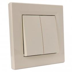 """Выключатель 2-кл. внутр. проходной Schneider""""ASFORA"""" сл.к. (EPH0600123)"""