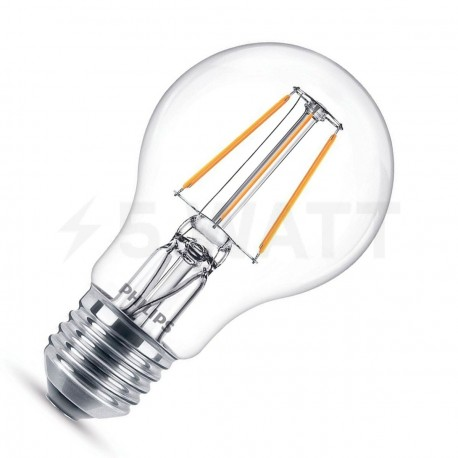 LED лампа PHILIPS LEDClassic A60 4.3-50W E27 2700K ND 1CT Filament (929001180407)