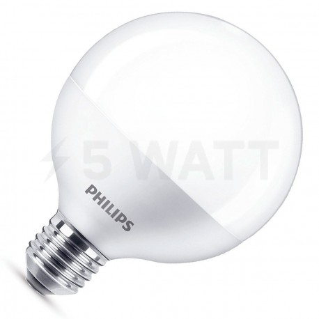 LED лампа PHILIPS LEDGlobe G120 11.5-85W E27 2700K (929001229607)