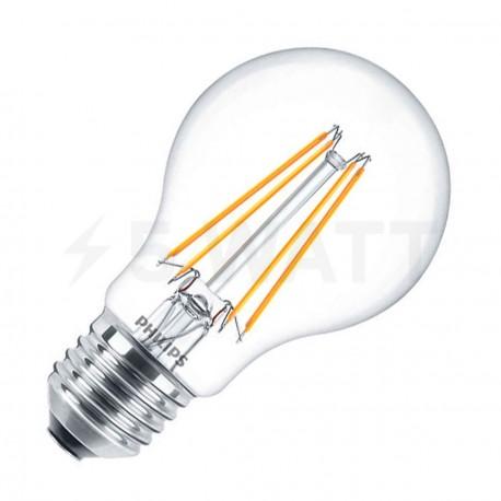 LED лампа PHILIPS LEDClassic A60 6-70W E27 2700K CL ND Filament(929001237208)