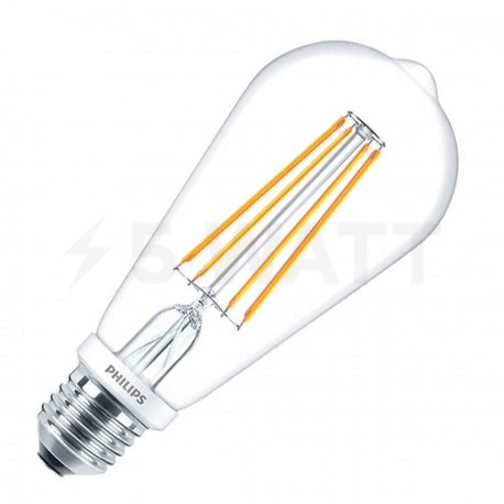 LED лампа PHILIPS LEDClassic ST64 6-70W E27 2700K CL ND Filament(929001237408) - купить