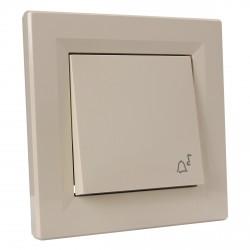 "Кнопка 2-мод. з символом ""Звонок"" Schneider""ASFORA"" сл.к. (EPH0800123)"