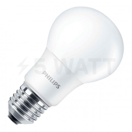 LED лампа PHILIPS LEDBulb A60 6-50W E27 3000K 230V (929001162007) - купить