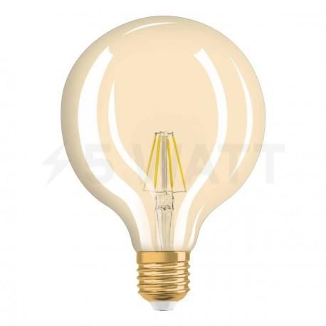 LED лампа OSRAM LED Vintage 1906 Flament Globe 4W E27 2400K 230V(4052899962071) - недорого