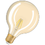 LED лампа OSRAM LED Vintage 1906 Flament Globe 4W E27 2400K 230V(4052899962071) - купить
