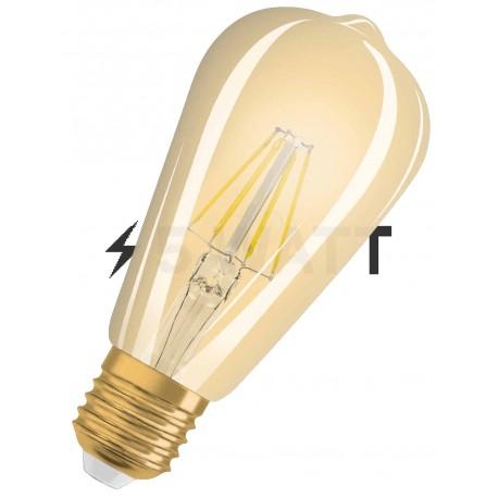 LED лампа OSRAM LED Vintage 1906 Filament Edison 4W E27 2400K 230V(4052899962095) - купить