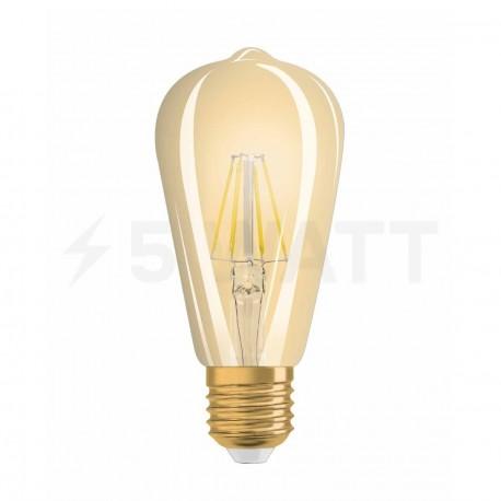 LED лампа OSRAM LED Vintage 1906 Filament Edison 4W E27 2400K 230V(4052899962095) - магазин светодиодной LED продукции