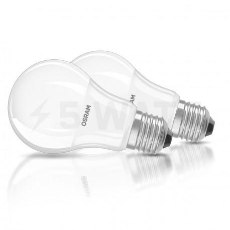 Набор LED ламп OSRAM LED Star Classic A60 8W E27 4000K FR 220-240V(4052899949805)