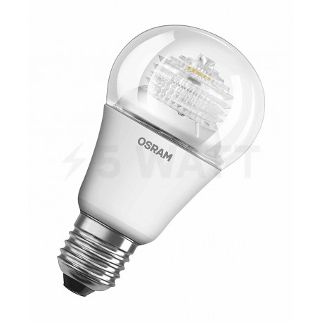 LED лампа OSRAM LED Super Star Classic A60 10W E27 2700K CL DIM 220-240V(4052899913813) - купить