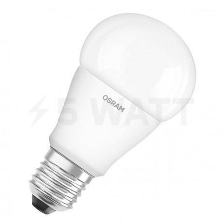 LED лампа OSRAM LED Super Star Classic A60 10W E27 4000K FR DIM 220-240V(4052899149571) - придбати