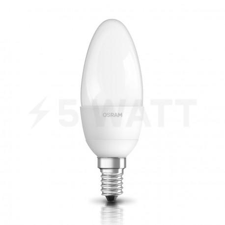 LED лампа OSRAM LED Star Classic B40 5,4W E14 3000K FR 230V(4052899971608) - недорого