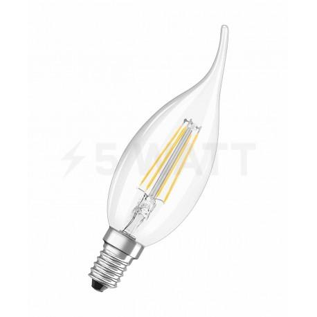 LED лампа OSRAM LED Retrofit Filament BA40 4W E14 2700K CL 230V(4052899961883)