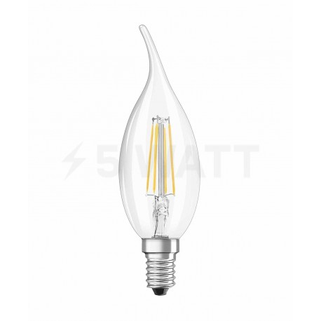 LED лампа OSRAM LED Retrofit Filament BA40 4W E14 2700K CL 230V(4052899961883) - недорого