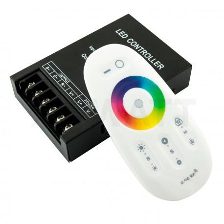 Контроллер RGB OEM 30А-2.4G-Touch белый - купить