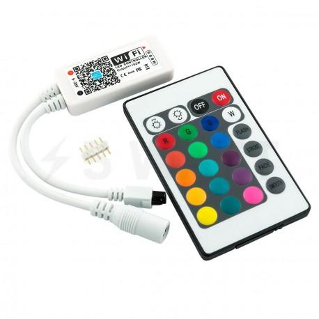Контроллер RGBW OEM 8А-WIFI-IR24 (2A*4канала) - купить