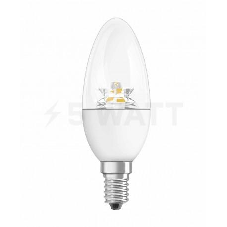 LED лампа OSRAM LED Star Classic B40 6,5W E14 2700K CL 220-240V(4052899911970) - 5watt.ua