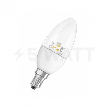 LED лампа OSRAM LED Star Classic B40 6,5W E14 2700K CL 220-240V(4052899911970) - придбати