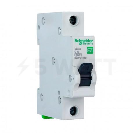 Автоматический выключатель Schneider 1-п. EZ9 10A C (EZ9F34110) - купить