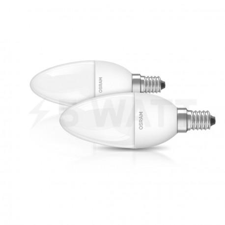 Набор LED ламп OSRAM LED Star Classic B40 6W E14 2700K FR 220-240V(4052899947566) - купить