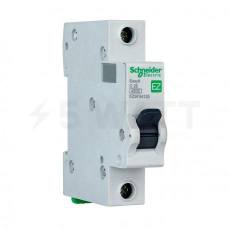 Автоматический выключатель Schneider 1-п. EZ9 25A C (EZ9F34125) - купить