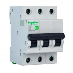 Автоматический выключатель Schneider 3-п. EZ9 50A C (EZ9F34350)