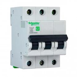 Автоматический выключатель Schneider 3-п. EZ9 63A C (EZ9F34363)