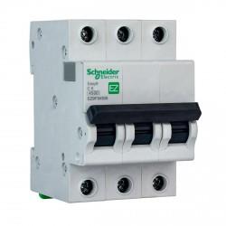 Автоматический выключатель Schneider 3-п. EZ9 6A C (EZ9F34306)