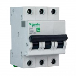 Автоматичний вимикач Schneider 3-п. EZ9 6A C (EZ9F34306)