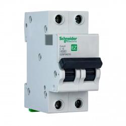 Автоматический выключатель Schneider 2-п. EZ9 10A C (EZ9F34210)