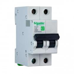 Автоматический выключатель Schneider 2-п. EZ9 40A C (EZ9F34240)