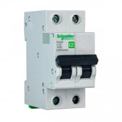Автоматический выключатель Schneider 2-п. EZ9 50A C (EZ9F34250)