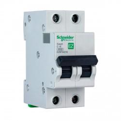 Автоматический выключатель Schneider 2-п. EZ9 16A C (EZ9F34216)