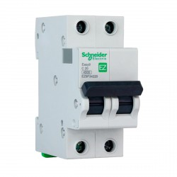 Автоматичний вимикач Schneider 2-п. EZ9 20A C (EZ9F34220)