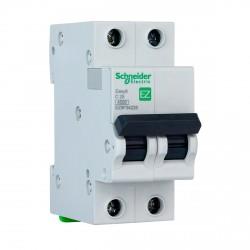 Автоматический выключатель Schneider 2-п. EZ9 25A C (EZ9F34225)