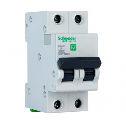 Автоматичний вимикач Schneider 2-п. EZ9 25A C (EZ9F34225)