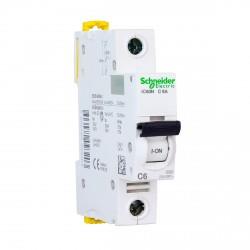 Автоматический выключатель Schneider 1-п. IC60N 6A С (6кА) (A9F79106)