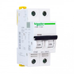 Автоматический выключатель Schneider 2-п. IC60N 32А С (6кА) (A9F79232)