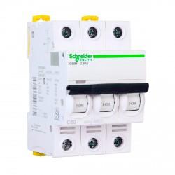 Автоматический выключатель Schneider 3-п. IC60N 50А C (6кА) (A9F79350)