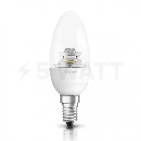 LED лампа OSRAM LED Super Star Classic B40 6,5W E14 2700K CL DIM 220-240V(4052899900899) - недорого
