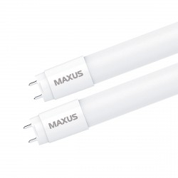 LED лампа MAXUS T8 холодный свет 8W, 60 см, G13, 220V (1-LED-T8-060M-0865-07)
