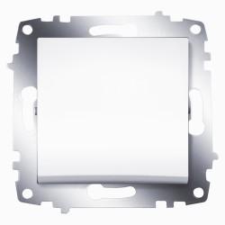 Выключатель 1-клав. ABB Cosmo белый (619-010200-200)