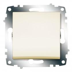Выключатель 1-клав. ABB Cosmo кремовый (619-010300-200)