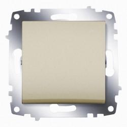 Выключатель 1-клав. ABB Cosmo титан (619-011400-200)