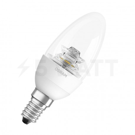 LED лампа OSRAM LED Super Star Classic B40 6,5W E14 2700K CL DIM 220-240V(4052899900899) - придбати
