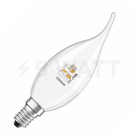 LED лампа OSRAM LED Super Star Classic BA40 5,4W E14 2700K CL DIM 220-240V(4052899279650) - придбати