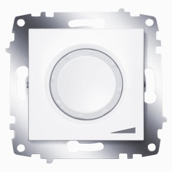 Диммер повор. ABB Cosmo белый (619-010200-192)