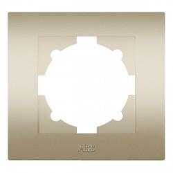 Рамка 1-но кратная ABB Cosmo титан (612-011400-271)