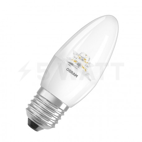 LED лампа OSRAM LED Super Star Classic B40 5,7W E27 2700K CL DIM 220-240V(4052899279506)